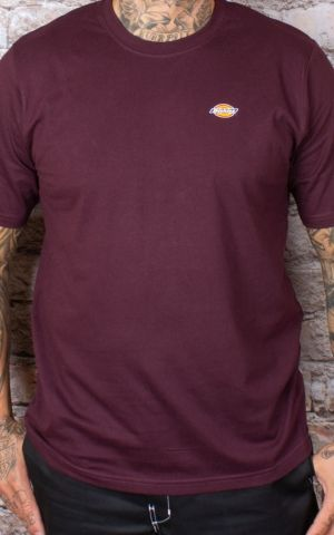Dickies - T-Shirt Stockdale, maroon