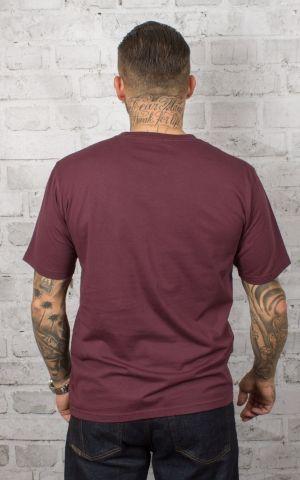 Dickies - T-Shirt Tiptonville, maroon