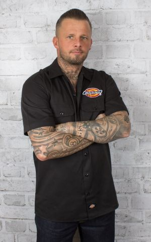 Dickies - Shirt Clintondale, black