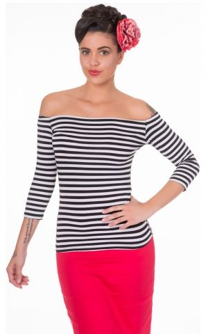 Dolly and Dotty Longsleeve Gloria Bardot Stripe