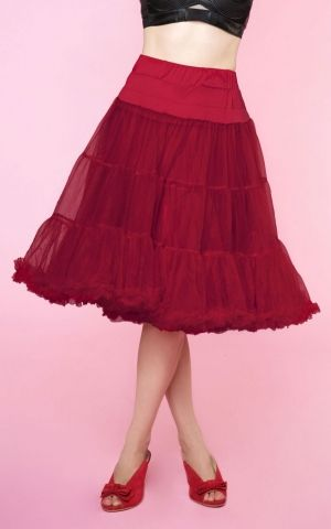 Dolly and Dotty Petticoat Fluffy burgundy, size adjustable