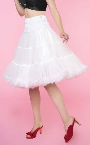 Dolly and Dotty Petticoat Fluffy white, size adjustable