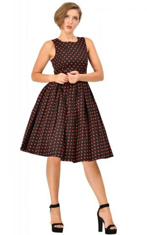 Dolly and Dotty - Swing Robe Annie Pretty Woman Polkadot