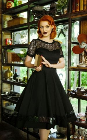 Dolly and Dotty - Swingkleid mit Spitze Tess