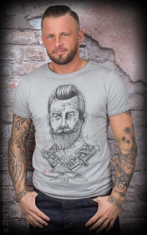 Donkey Swing - Vintage T-Shirt Rockabilly Man