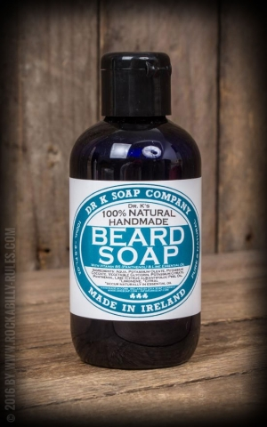 Dr. K. beard soap