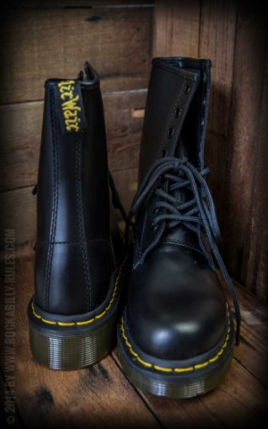 Dr Martens-Stiefel-8 Loch-Last Black