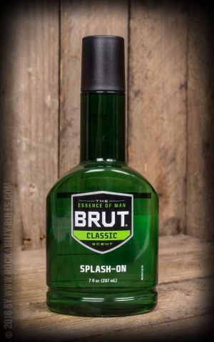 Eau de Cologne - Brut Splash-On, Classic 7oz./207ml