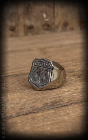 Stainless Steel Ring - Route 66