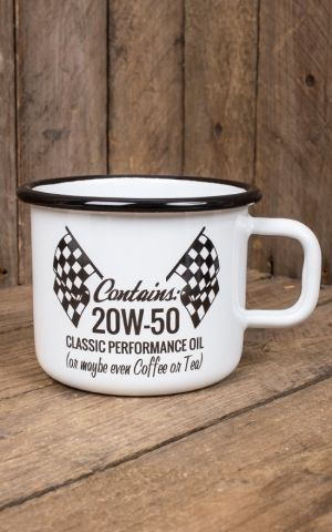 Rumble59 Enamel Mug - 20W-50