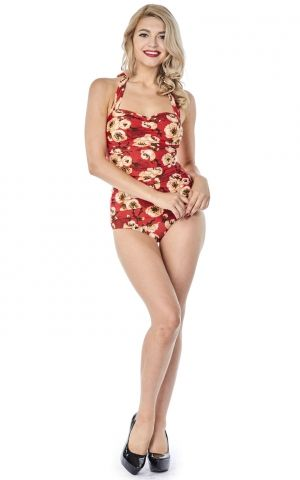 Esther Williams Badeanzug Geisha Floral