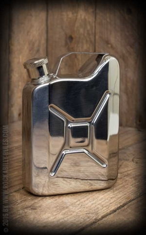 Hip Flask Gas Can Energy Fuel Drink