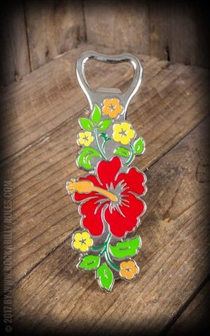Bottle opener Pua Hibiscus