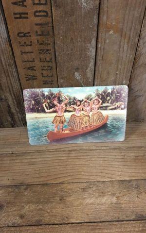 Frühstücksbrettchen - Hawaii Canoe