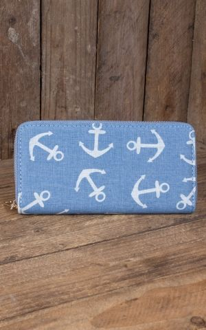 Wallet Anchor, light blue