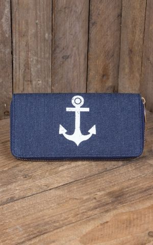 Wallet Vintage Anchor