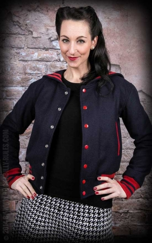 Lady Baseball Jacke - Anne Bonney -