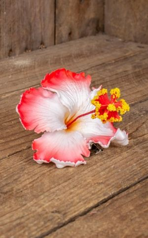 Miss Candyfloss barrette à cheveux Hibiscus RoseMay