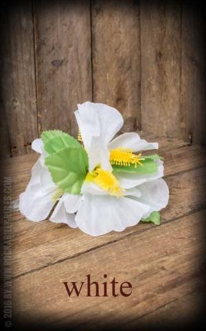 HairClip - Aloha Hawaii Hibiskus Flower, diverse