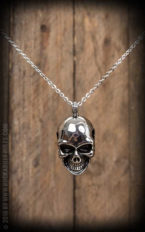 Necklace with pendant - Skull