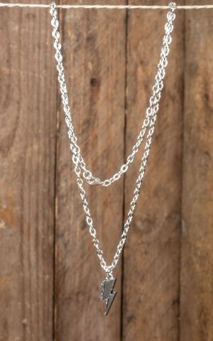 Necklace with TCB flash