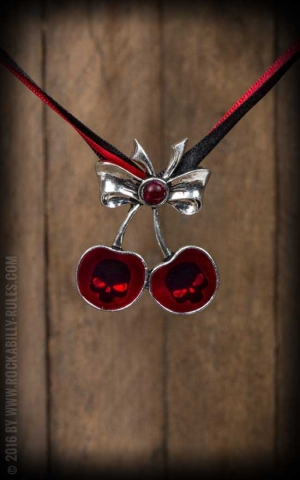 Necklace - Black Cherry