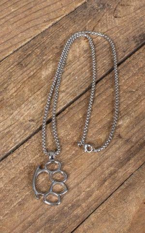 Halskette mit Anhänger - Schlagring