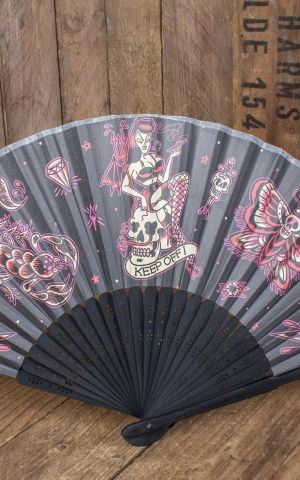 Sourpuss Clothing Fan - Keep off