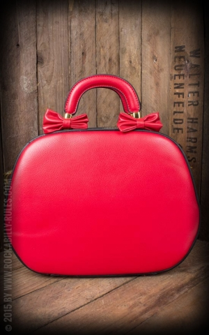 Handbag - Lucille, red