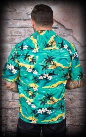 Hawaiian Shirt - Hawaiian Green