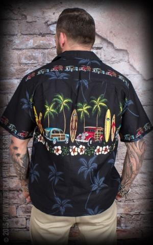 Hawaii Hemd - Palm tree