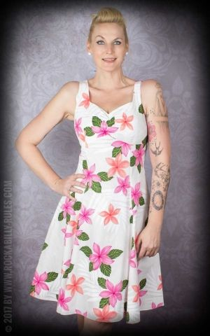 Hawaiian Swingdress Aloha Hibiscus