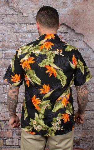 Hawaihemd - Papageienblume