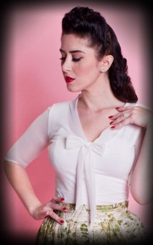 Heart of Haute - Top Femme Inspiration, ivoire
