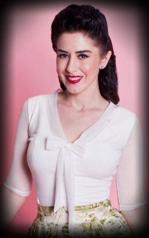 Heart of Haute - Ladies Top Inspiration, Ivory