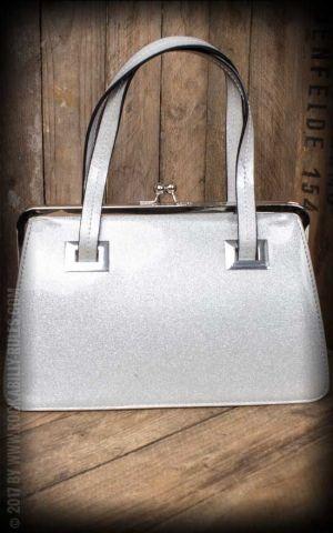 Hell Bunny - Handtasche Tippi, silber