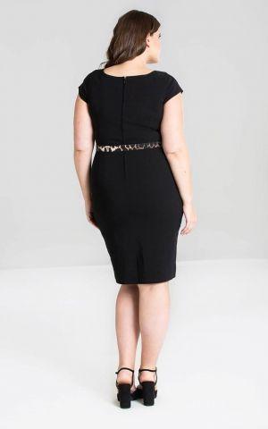 Hellbunny Pencil Skirt Dress Kleid Feline