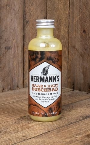 Hermanns Hair and skin shower bath, 250 ml