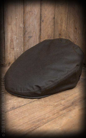 Herren Cap - Neil Waxed Cotton, grün