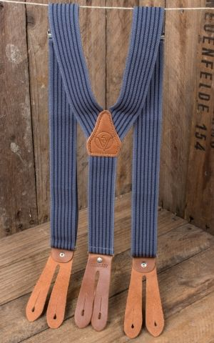 Rumble59 - Suspenders - Colour combination blue