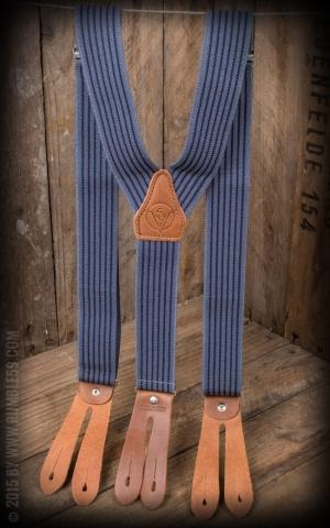 Rumble59 - Hosenträger - Farbkombi blau