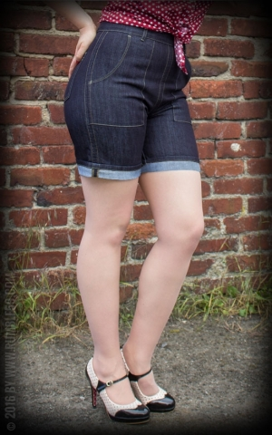 Rumble59 Ladies Denim - Hotpants