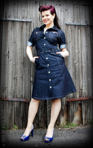 Rumble59 Ladies Denim - Dress