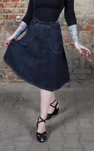 Rumble59 Ladies Denim - Skirt Rocking Rosie