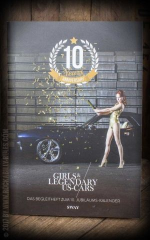 Special Anniversary magazine 10 years Girls & Legendary US-Cars