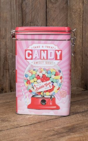 Coffee storage tin - Candy