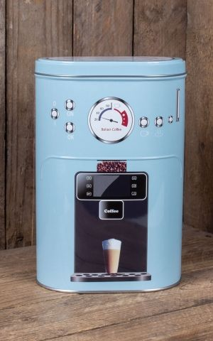 Boîte à café en métal machine à café, différentes couleurs