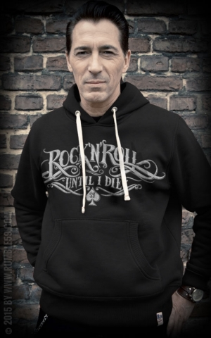 Rumble59 - Hoodie-Sweater - R'n'R Until I Die - schwarz