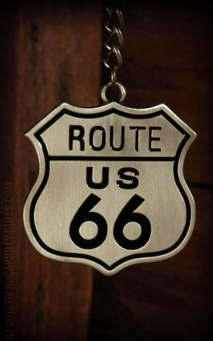 Keyring Route 66