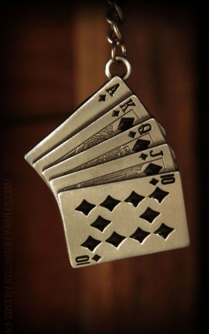 Keyring Royal Flush